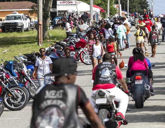Memorial Day Bikefest Back in 2017