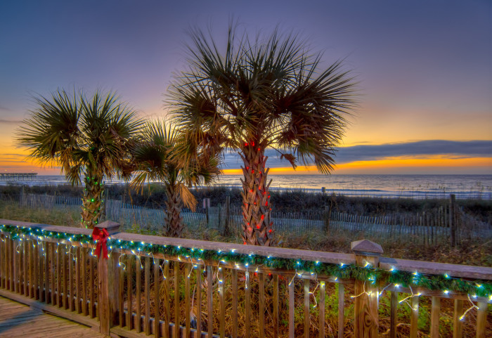 Enjoying North Myrtle Beach This Winter
