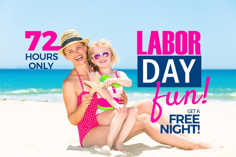 Labor Day 3rd Night Free