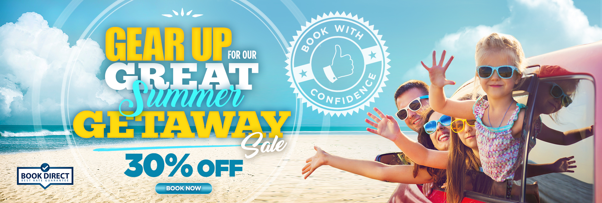 The Great Summer Getaway Sale