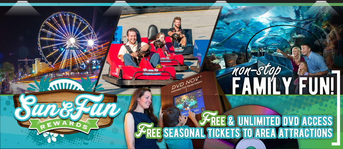 Sun & Fun Bonus Rewards Myrtle Beach Resort Vacations
