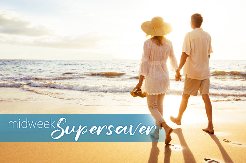 40% OFF Fall Midweek Supersaver
