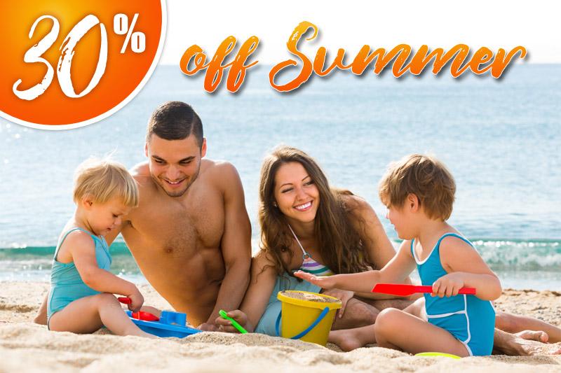 30% Off Summer