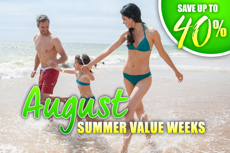 August Value Weeks - 40% Off
