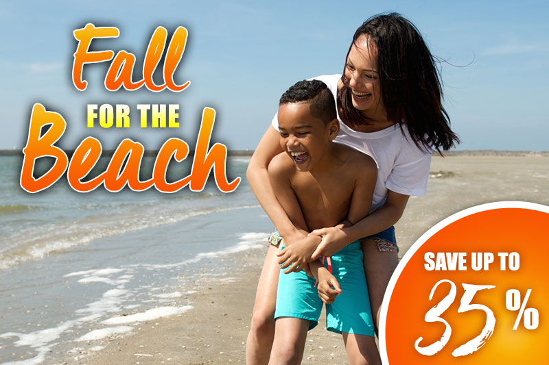 Fall for the Beach - 35% Off