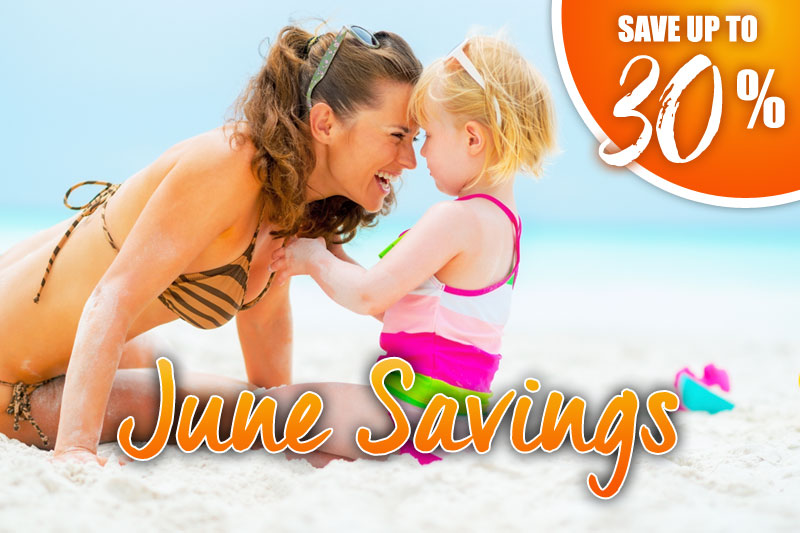 June Savings - 30% Off