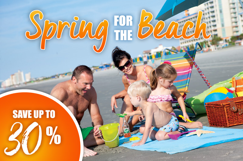 Spring for the Beach - 30% Off