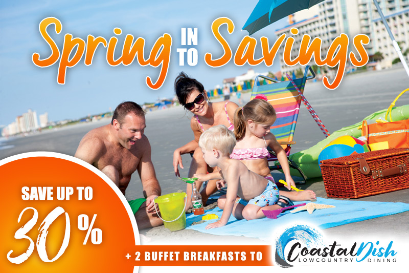 Spring into Savings - 30% Off +2 Breakfast Tix