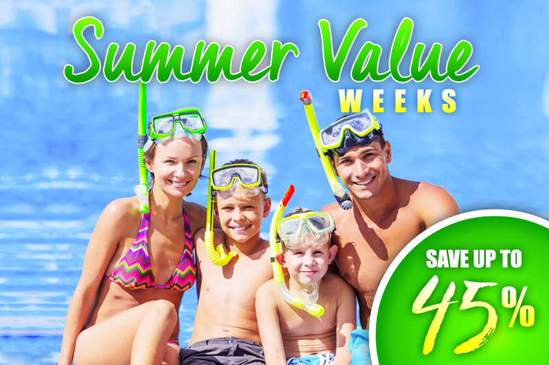 Summer Value Weeks - 45% Off