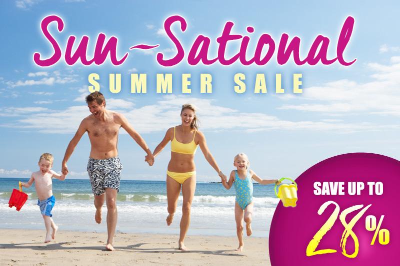 Sun-Sational Summer Sale - 28% Off