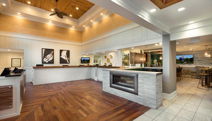 Caribbean Resort Lobby