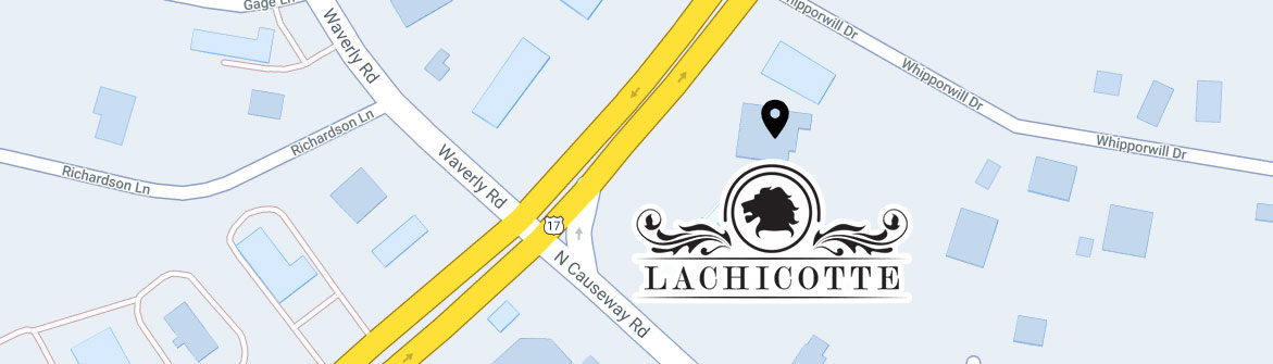 The Lachicotte Company Vacation Rentals Map Image