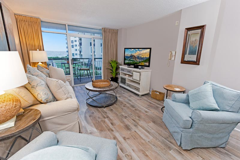 1 Bedroom Oceanfront Condo at Bridgewater Floorplan