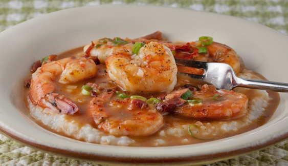 Shrimp And Grits the House Special at Websters Lowcountry Tavern and Grill
