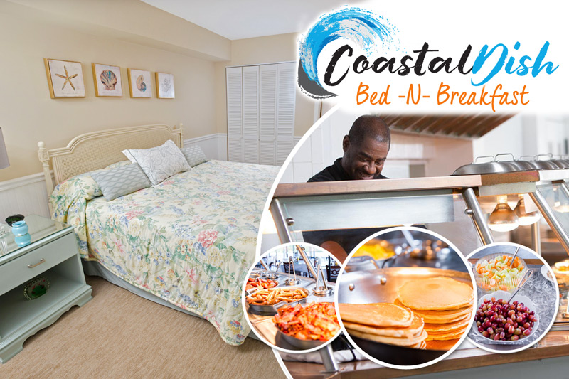 20% OFF Coastal Dish Bed & Breakfast