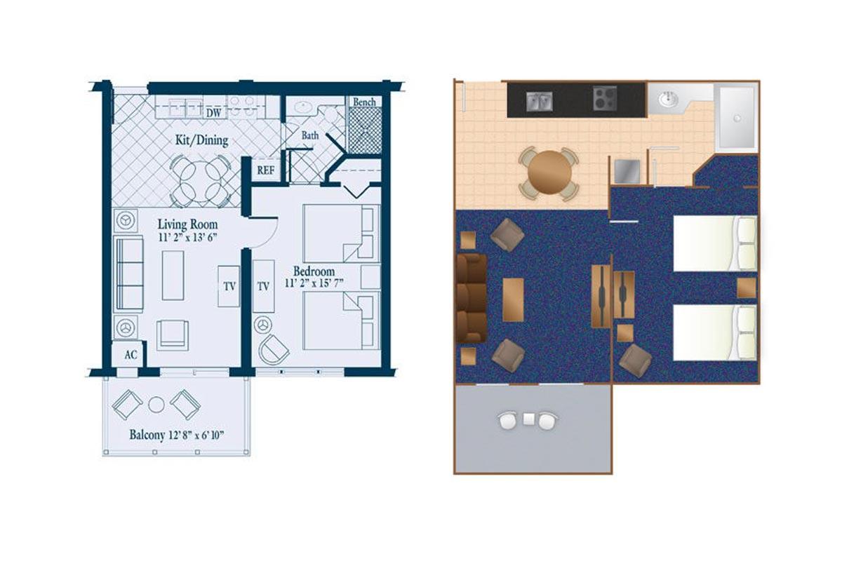 Summerhouse 1 Bedroom Suite Golf Packages