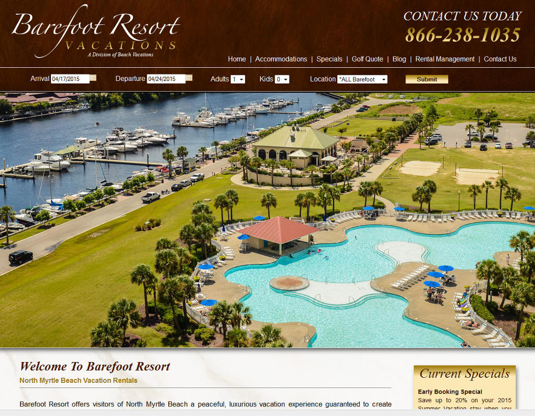 Barefoot Resort Vacations