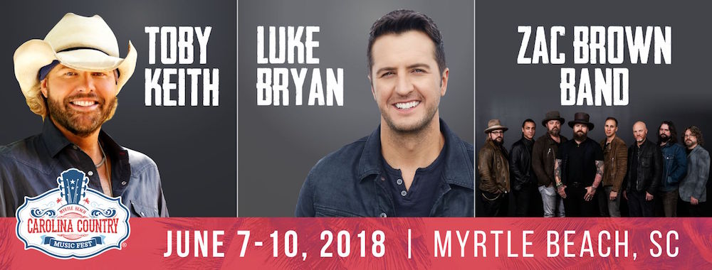 Carolina Country Music Fest Returns to Myrtle Beach June 2018