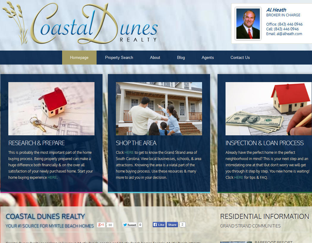 Coastal Dunes Realty Myrtle Beach
