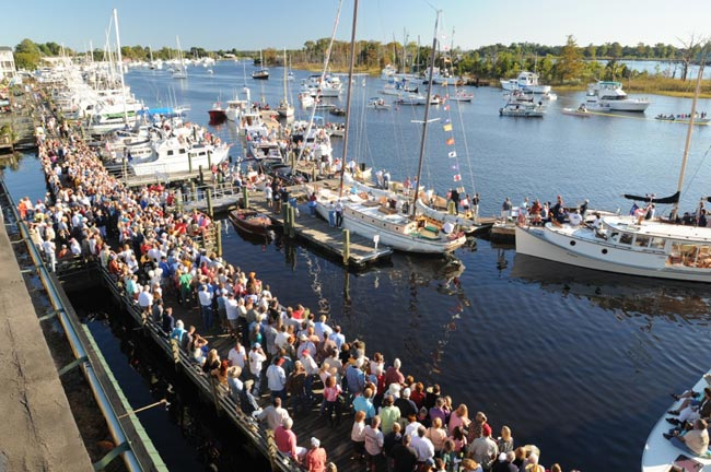 Visit the 28th Annual Georgetown Wooden Boat Show This October