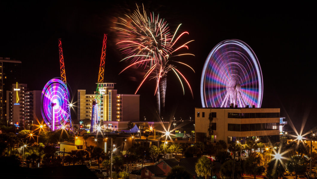Best Places to Watch Fireworks in Myrtle Beach on July 4th