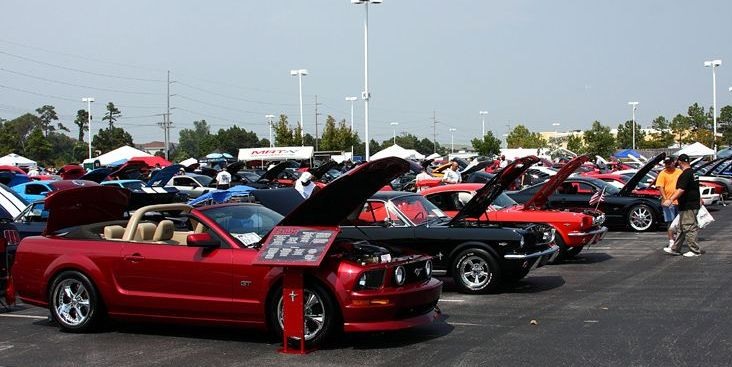 Mustang Week Returns to Myrtle Beach This September