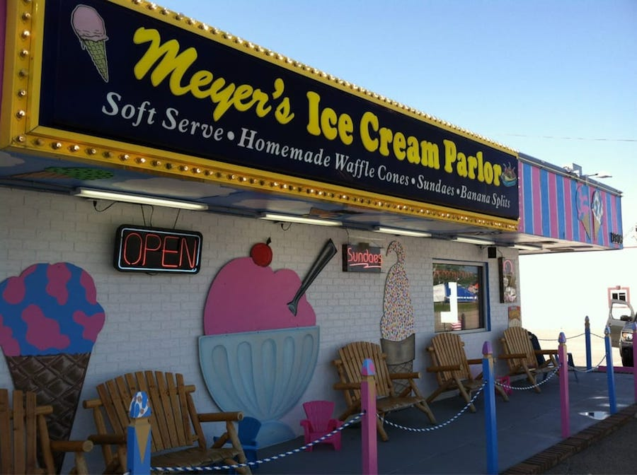 Top 5 Ice Cream Spots In Myrtle Beach