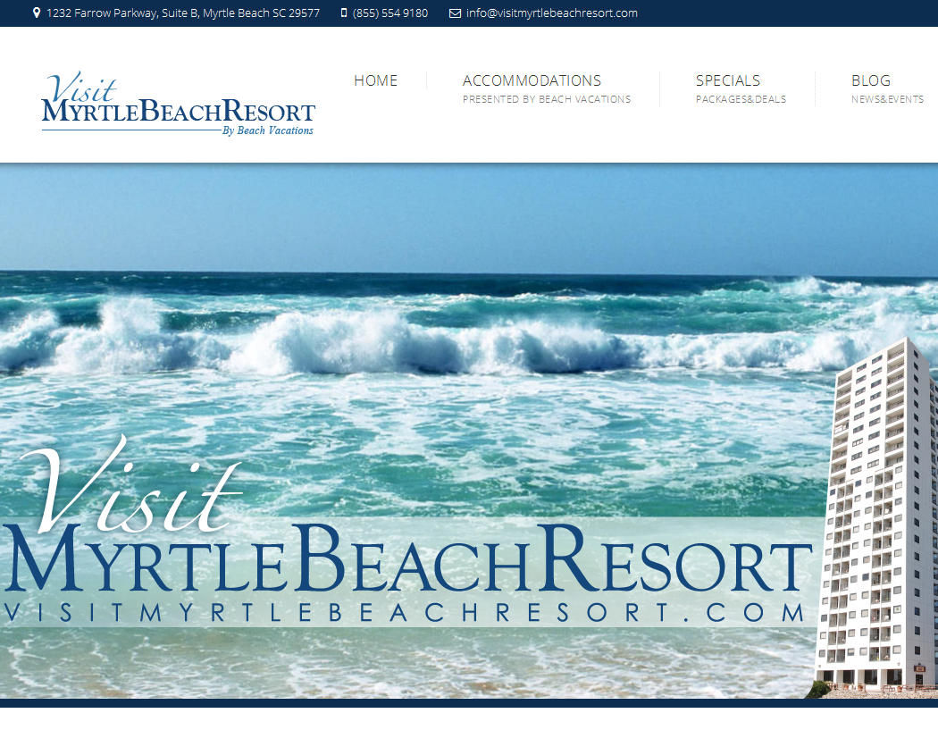 Visit Myrtle Beach Resort