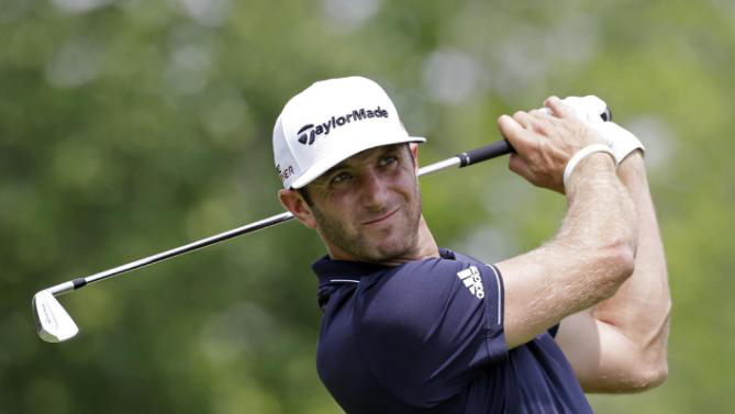Number One in the World and At Home: Dustin Johnson