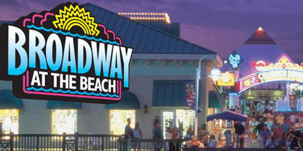 Broadway at the Beach Myrtle Beach Golf Central