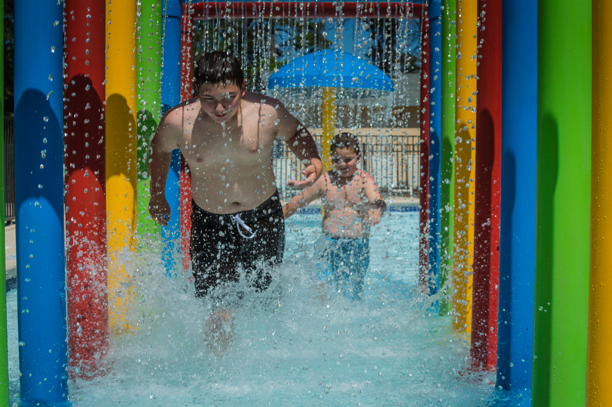 Huge Splash Area Litchfield Vacations