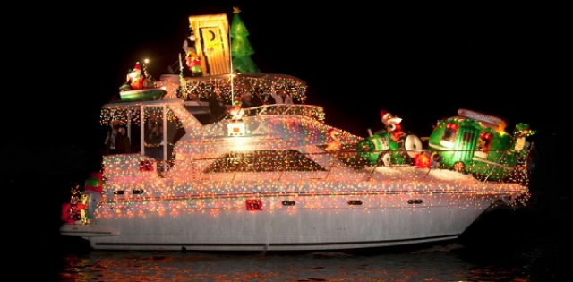 christmas parades in the myrtle beach area in 2016