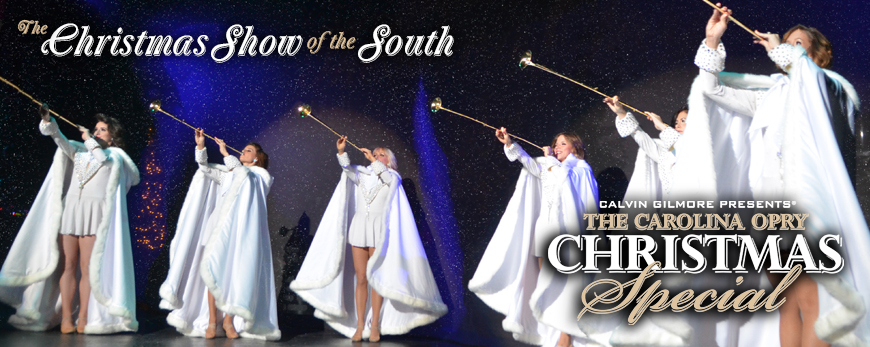 Top 5 Holiday Shows Around the Grand Strand