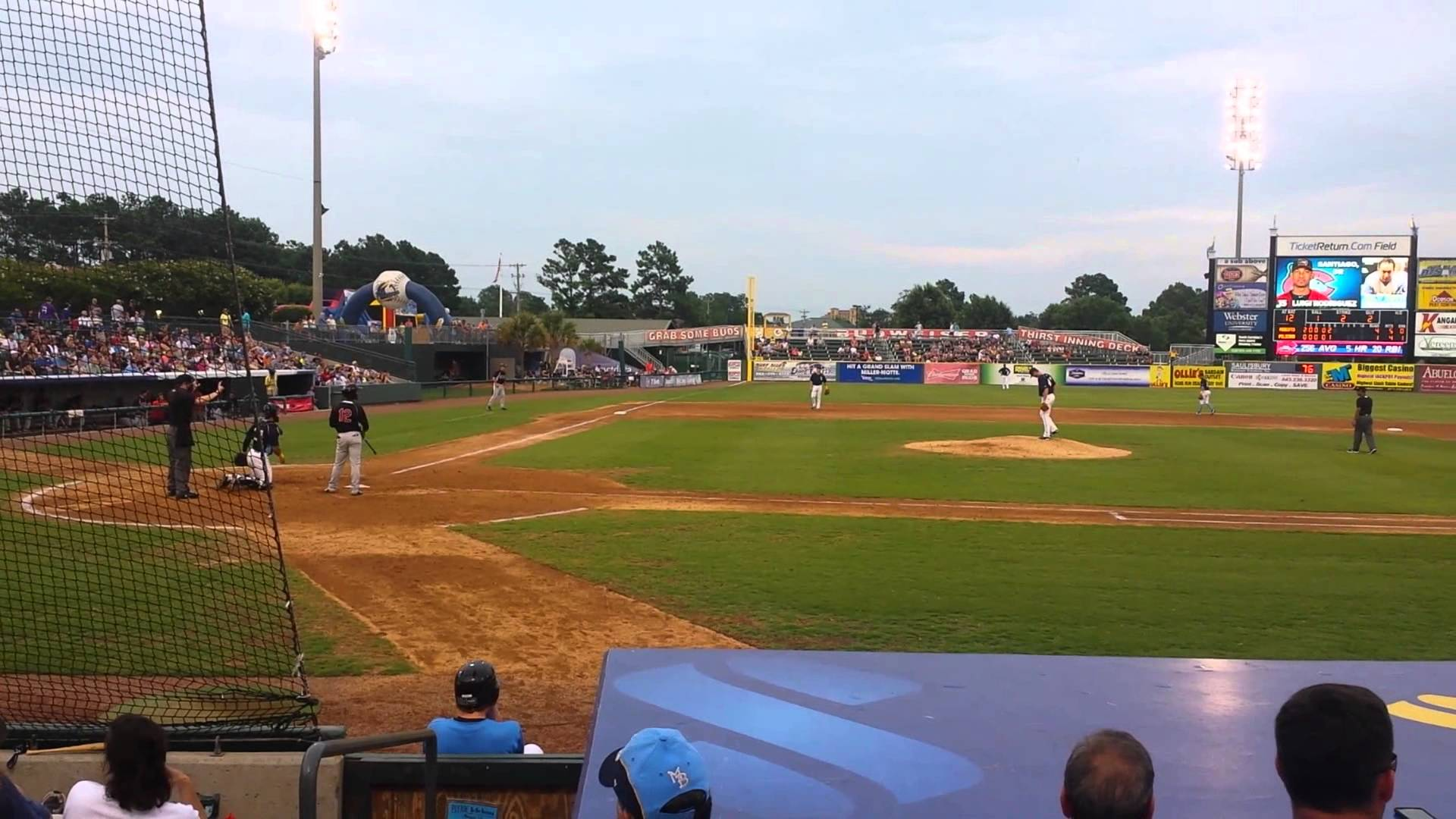 Summer is the Season for Myrtle Beach Pelicans Baseball