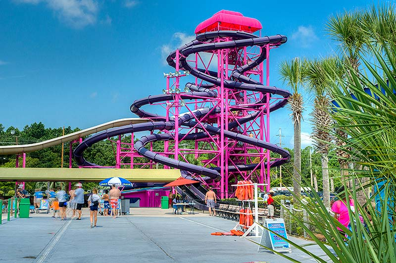 Make a Wave This Summer at Myrtle Waves Water Park